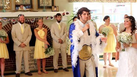 Ric Flair wedding entrance!   YouTube