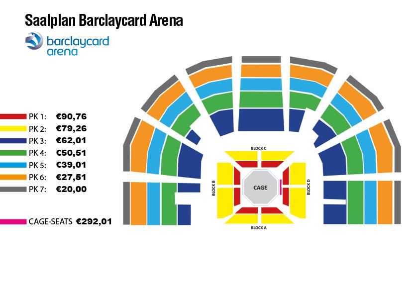 Barclaycard Arena Sitzplan - Sitzplan auf Deutsch