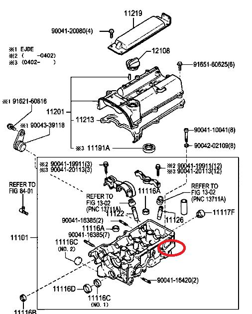 Perodua Kembara Engine Parts