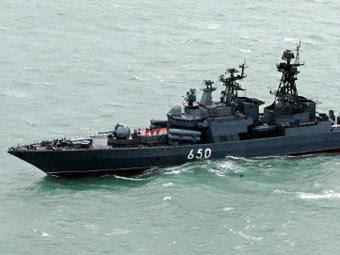 """Корабль """"Адмирал Чабаненко"""". Архивное фото ©AFP"""