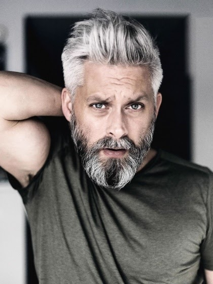 Grau Bild: Graue Haare Im Bart Was Tun