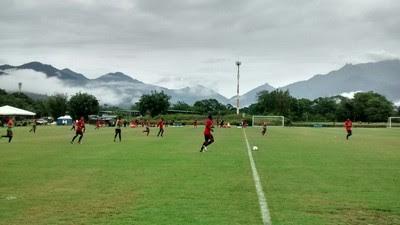 Flamengo inicia semana de treinos em Mangaratiba nesta segunda (Foto: Raphael Zarko/GloboEsporte.com)