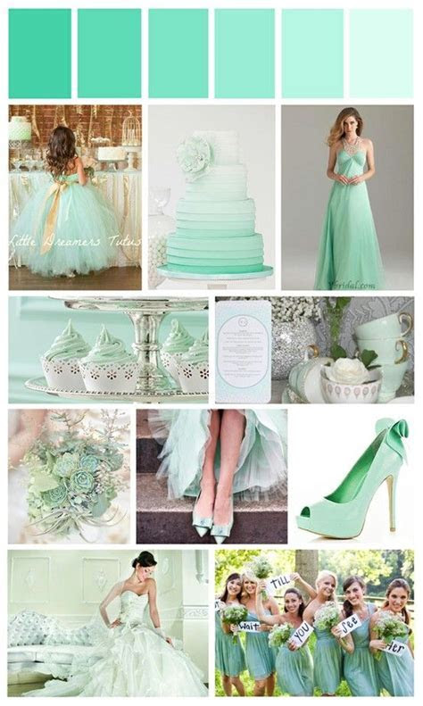 Mint Green Wedding   Wedding ideas for brides, grooms