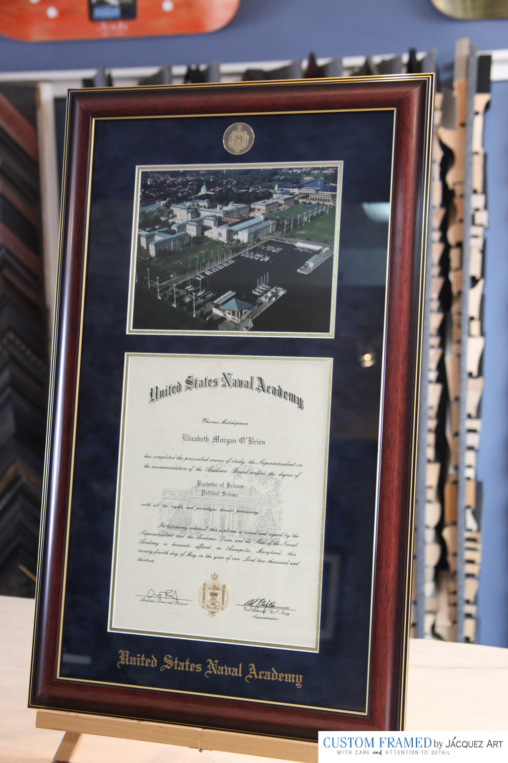 Diploma Custom Framing Jacquez Art Custom Framing