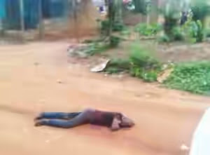 Suspected Cultist Gun Down Resident Near Community School (Graphic Pic)