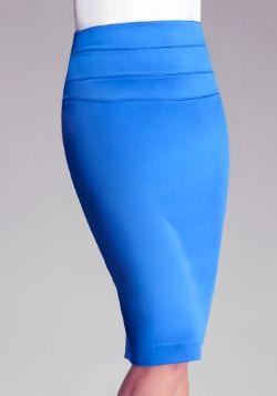 Bebe High-Waist Midi Skirt