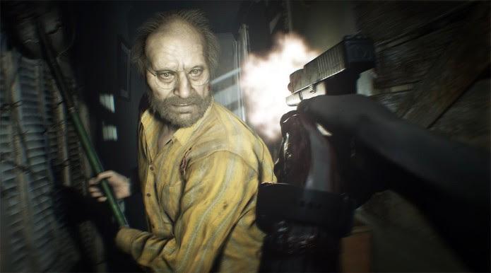 Jack Baker em Resident Evil 7 (Foto: Divulgação/Capcom)