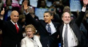 Booker-Corzine-Obama-and-Weinberg