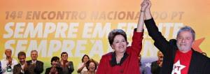 Dilma é a canditada do PT, mas segurem o volto Lula...