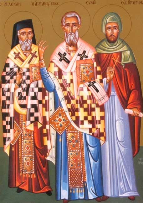 IMG STS. LEO & PARIGORIUS of Patara in Lycia