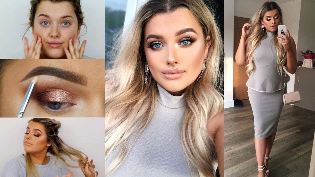 hair and makeup ideas for wedding guest - george's blog