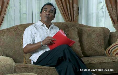 Shaharuddin Thamby ... watak utama dalam Pesona Kasih di TV1
