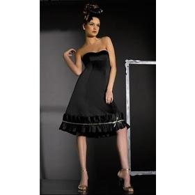 Knee length evening dresses sale