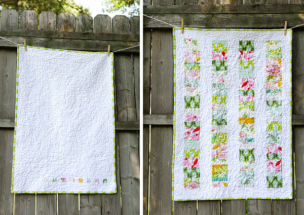 baby coins quilt