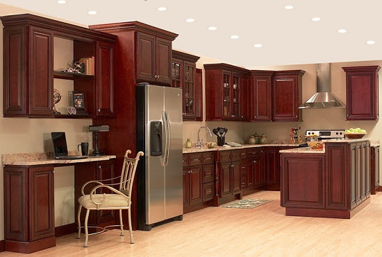What Color To Paint Kitchen With Cherry Cabinets - Home ...