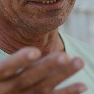 Avô da criança disse que o filho é usuário de drogas e álcool, espírito santo (Foto: Bernardo Coutinho/ A Gazeta)