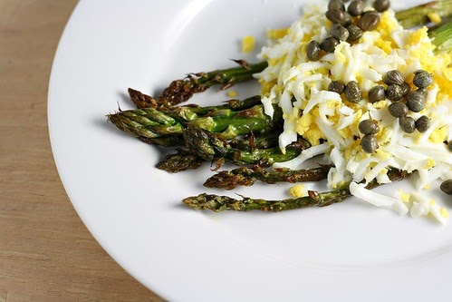 Dishing Up Delights: Asparagus Mimosa