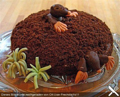 Fun Food Kids Kuchen cake Maulwurfskuchen Maulwurfkuchen