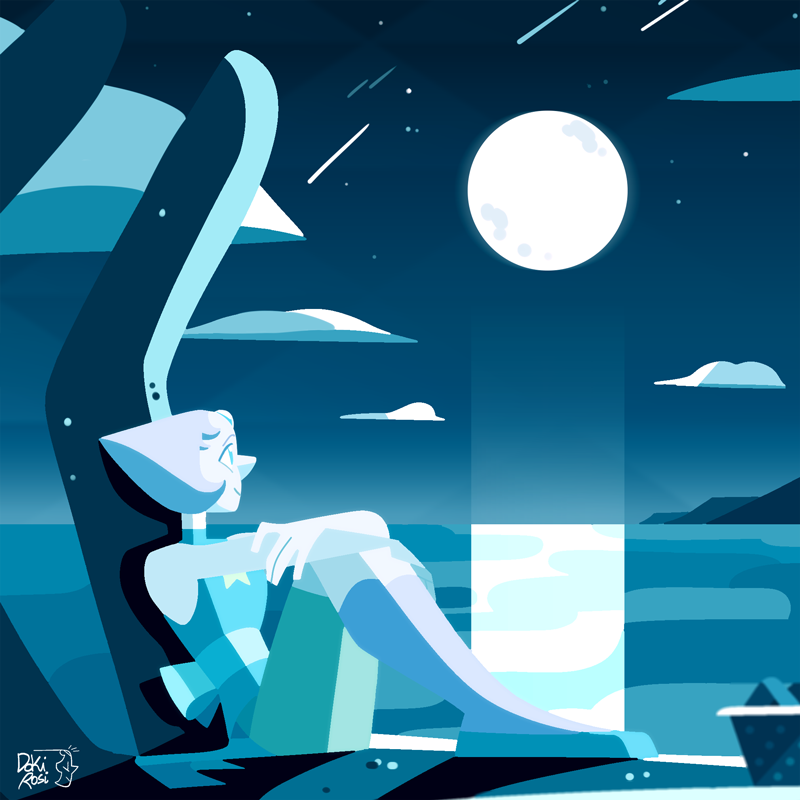 "⚪ Pearl ⚪ ""It really is incredible out there, though. I wish you could see it, Steven."" [ Please do not repost it on Instagram! ]"