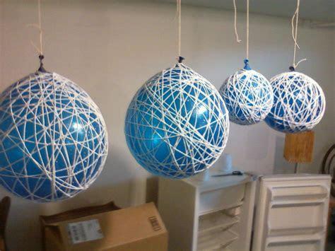diy wedding decor   Hobart and Haven: String Chandeliers