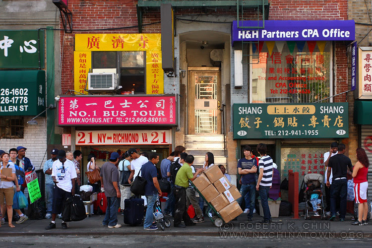 New York City Chinatown Directory Regional Chinatown Bus Information