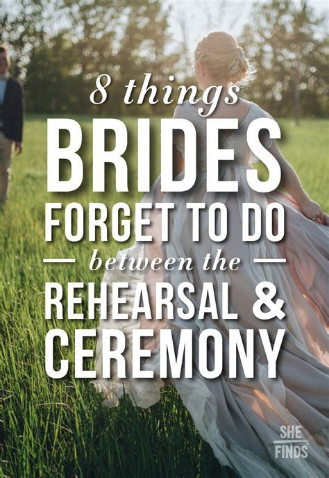 What To Do After Wedding Rehearsal   Life   Weddings