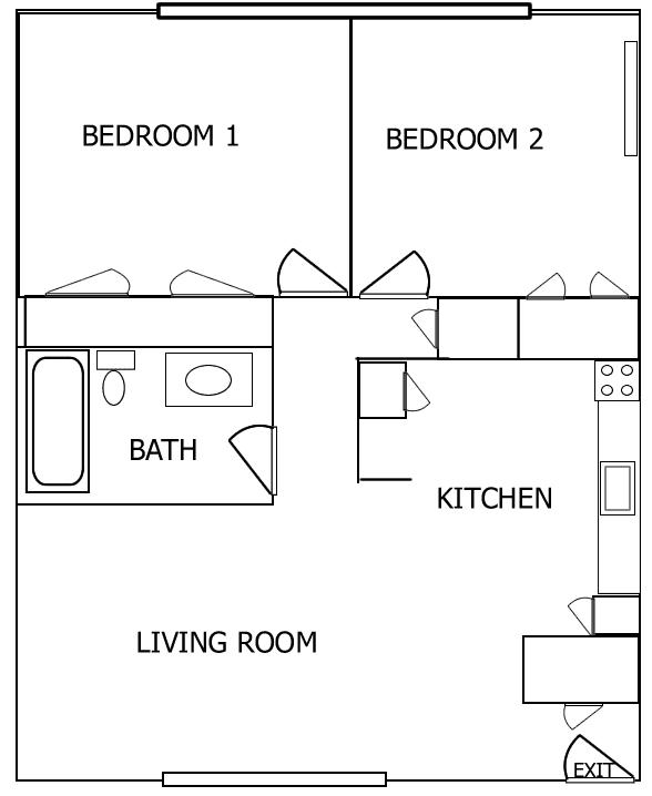 One bedroom apartments iowa city vienna shopping victim for Iowa city one bedroom apartments