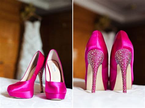 pink wedding shoes ideas  pinterest awesome
