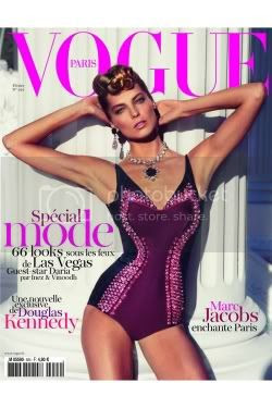 Daria Werbowy Fashion Style French Vouge