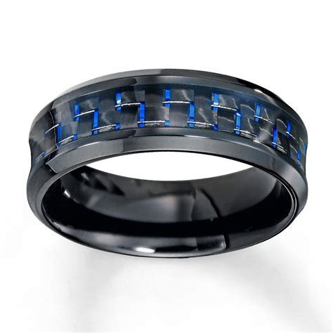 Stylish mens wedding bands kays   Matvuk.Com