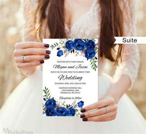35  Floral Wedding Templates   Editable PSD, AI Format