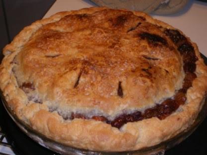 2010 Pi Day Rhubarb Pie
