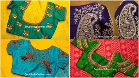Bridal silk saree blouse designs   Simple Craft Ideas
