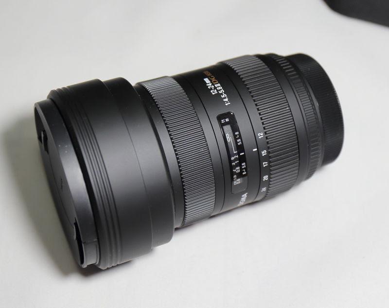 超広角ズームレンズ Sigma 12 24mm F4 5 5 6 Ii Dg Hsm Purple Haze