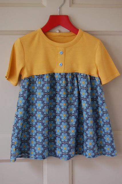 Yellow T-Shirt Tunic