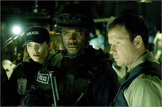 Wahlberg took on the role of detective Eric Mathews in the 'Saw' series.