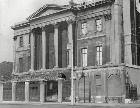 The Duke of Wellington's former home Apsley House on Hyde Park Corner where he hosted grand events to commemorate the historic battle