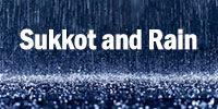 rain and sukkah