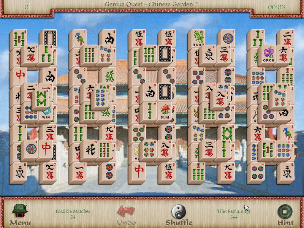Mahjong A game game