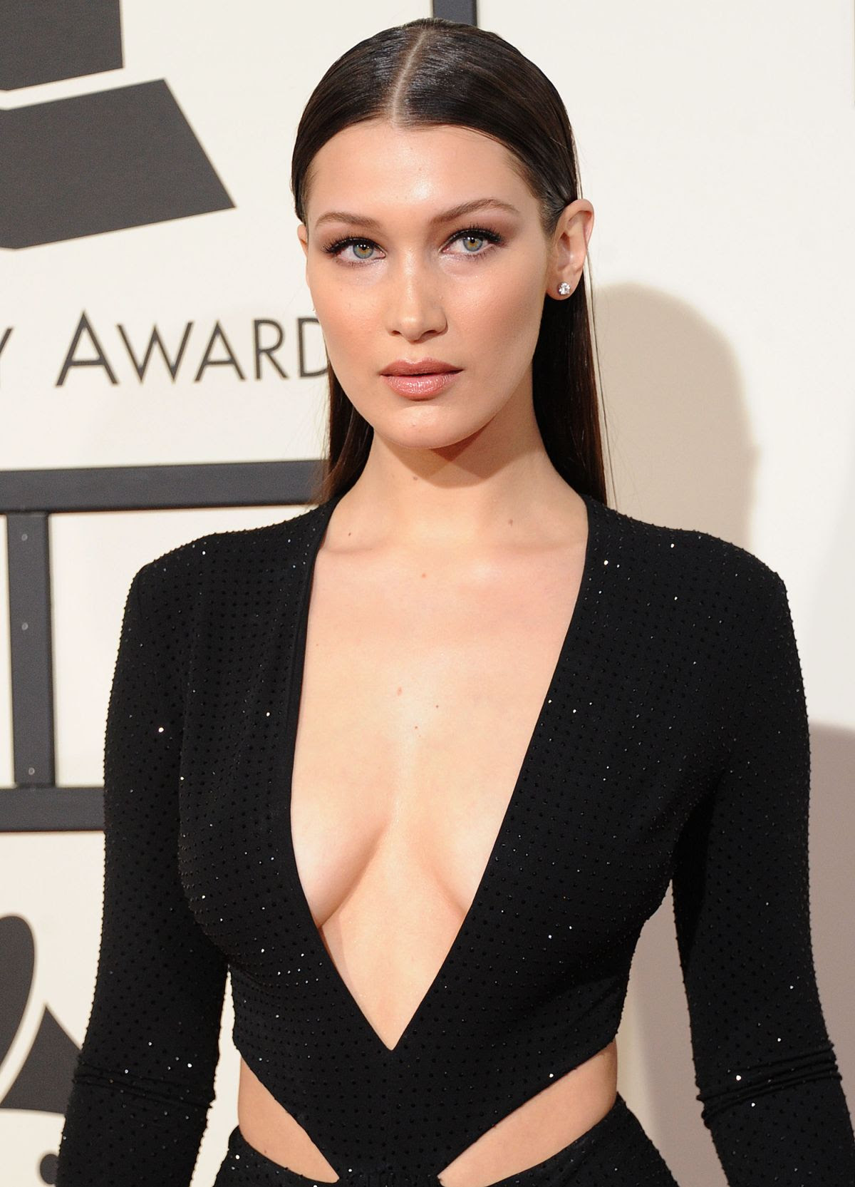 BELLA HADID at Grammy Awards 2016 in Los Angeles 02/15/2016