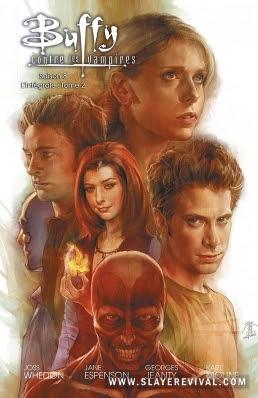 Couverture Buffy contre les vampires, Saison 8, intégrale, tome 2