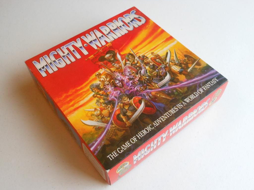Mighty Warriors box