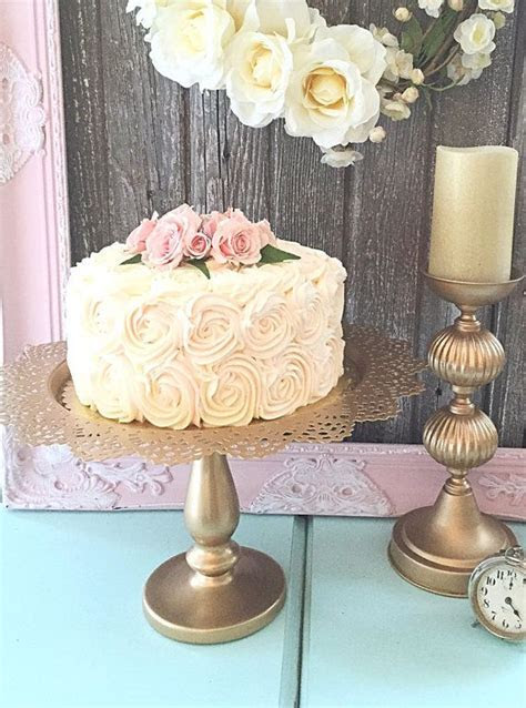 Best 25  Gold cake stand ideas on Pinterest   Cheap cake