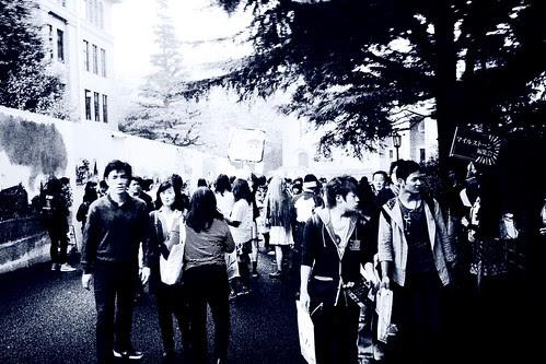 「早稲田祭2011」  I forgot that Wasedasai was ongoing