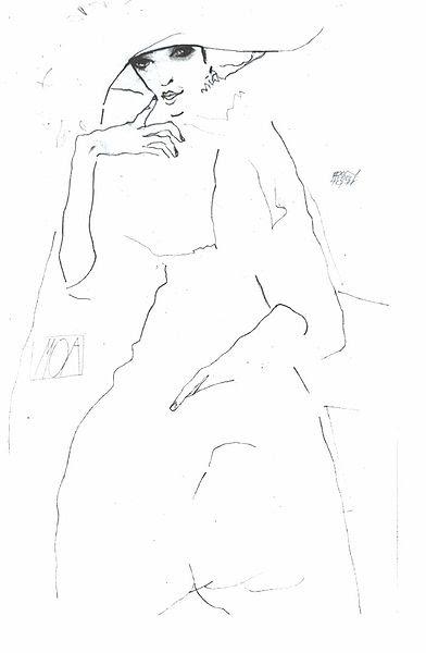 File:Schiele - Die Tänzerin Moa - 1911.jpg
