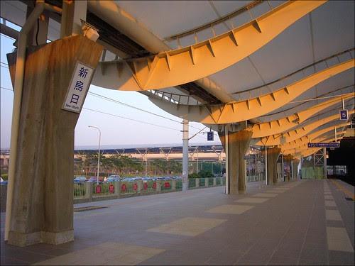 新烏日站與高鐵台中站