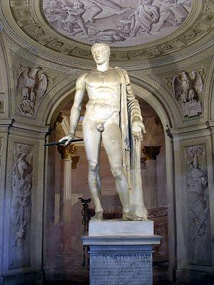 Roman statue of Pompey Magnus