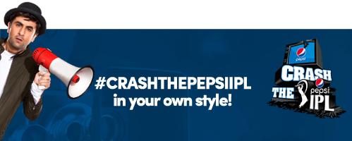 CRASH THE PEPSI IPL