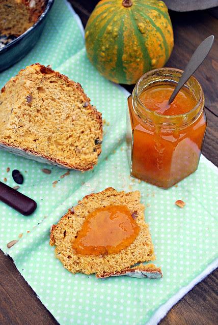 pumpkin irish soda bread 02 640