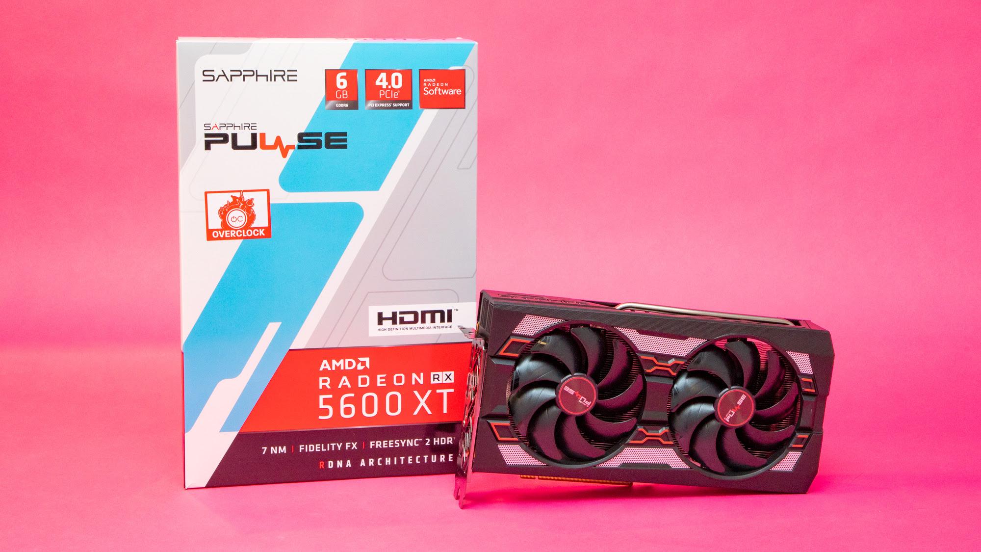 1. AMD Radeon RX 5600 XT